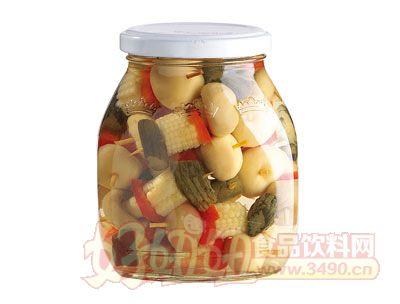 紫山调味混合蔬菜罐头