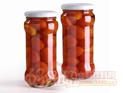 紫山调味小番茄罐头