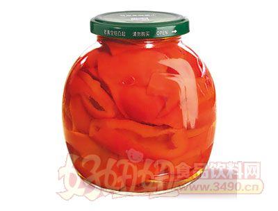 紫山清水红椒罐头