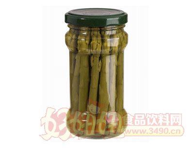 紫山绿芦笋罐头