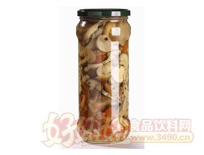 紫山混合菇�{味罐�^