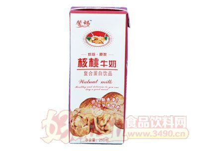馨畅核桃牛奶复合蛋白饮品250ml