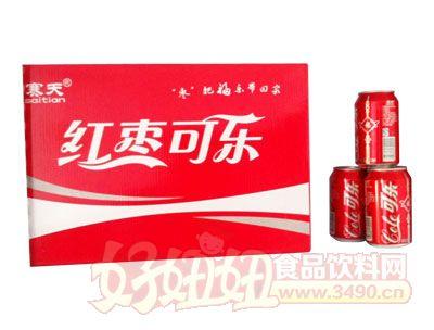 达威红枣可乐碳酸饮料