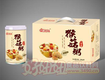谷粒优猴菇八宝粥320g罐装