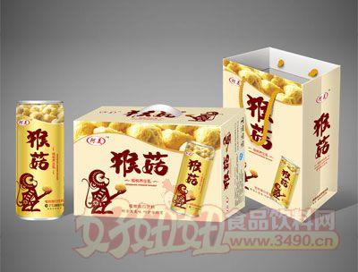 阿美猴菇核桃养生乳植物蛋白饮料