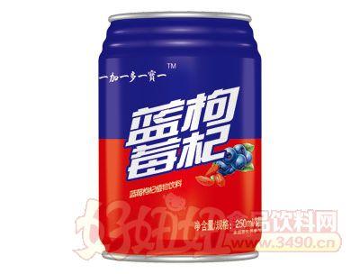 贝贝食品蓝莓枸杞植物饮料250ml