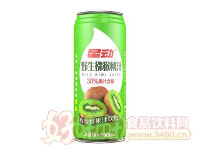 星动野生猕猴桃果汁饮料960ml