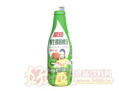 星动野生猕猴桃汁果汁饮料1.25L