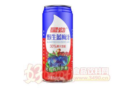 星动野生蓝枸杞饮料960ml