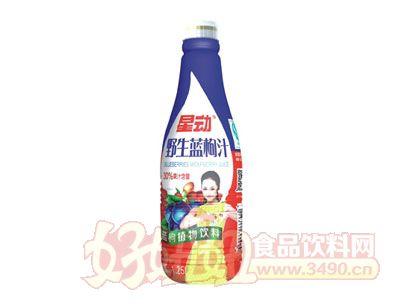 星动野生蓝枸杞植物饮料1.25L