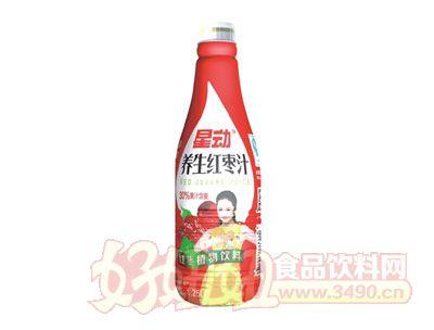 星动养生红枣汁植物饮料1.25L