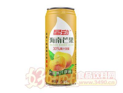 星动海南芒果汁饮料960ml
