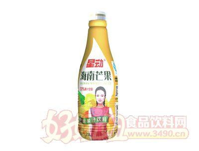 星动海南芒果果汁饮料1.25L