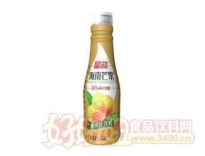 星动海南芒果果汁饮料500ml