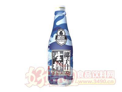 星动生榨椰子汁植物蛋白饮料1.25L
