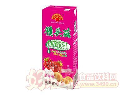 金初元草莓味猴菇优酪乳250ml