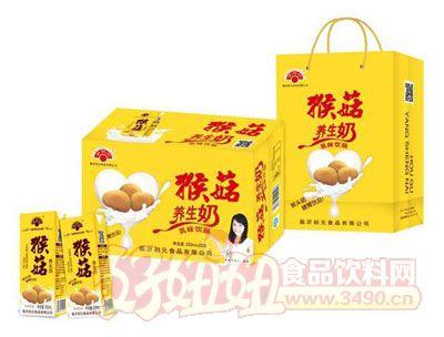 金初元猴菇养生奶乳味饮料