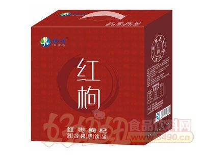 特润红枸复合果浆饮品箱装