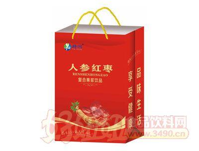 特润人参红枣复合果浆饮品手提袋