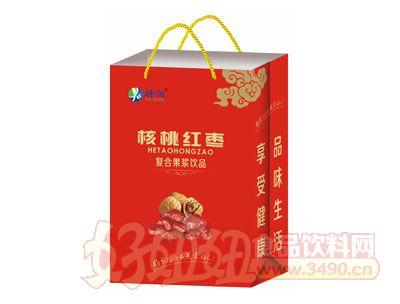 特润核桃红枣复合果浆饮品手提袋