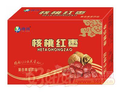 特润核桃红枣复合果浆饮品箱装