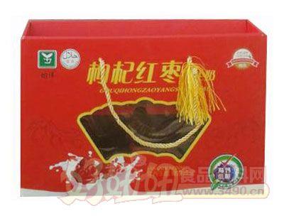 均洋枸杞红枣养生奶礼盒