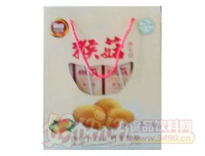 均洋猴菇养生奶开窗礼盒