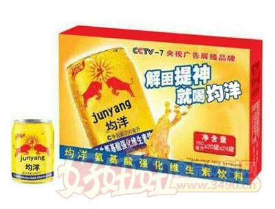 均洋氨基酸强化维生素饮料箱装