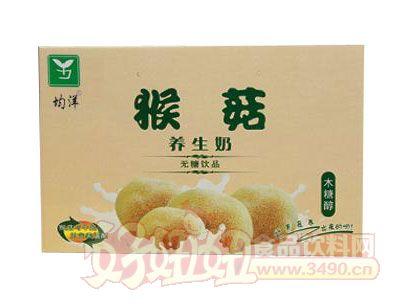 均洋猴菇养生奶木糖醇箱装