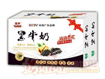 优牛黑牛奶240ml×16、20盒