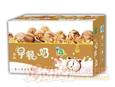 均洋核桃早餐奶240ml×16、20盒