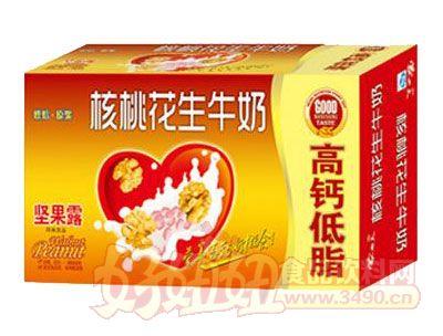 均洋核桃花生牛奶坚果露240ml×16、20盒