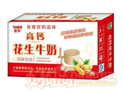 优牛高钙花生牛奶240ml×16、20盒