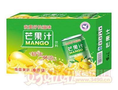 均洋芒果汁240ml×16、20罐