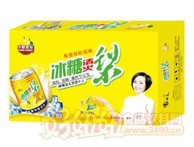 均洋冰糖清火梨汁240ml×16、20罐