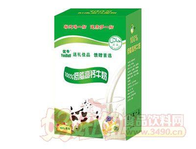 优牛低脂高钙牛奶250ml×16礼盒
