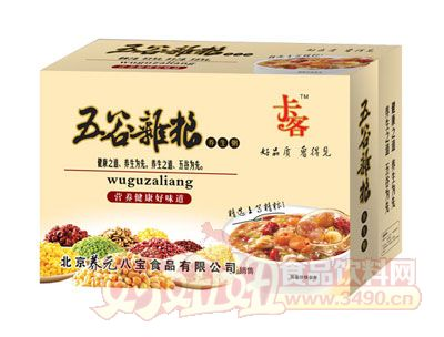 卡客五谷杂粮养生粥(碗粥)
