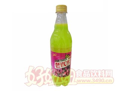 优露老汽水碳酸饮料水蜜桃味