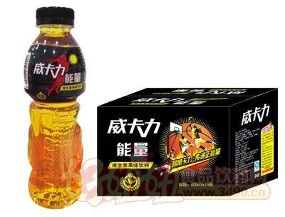 威卡力能量维生素果味饮料箱600ml×15瓶