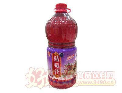 优露蓝莓汁2.58L