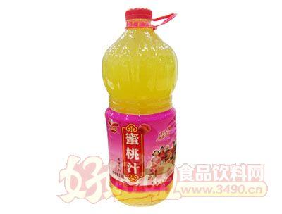 优露蜜桃汁2.58L