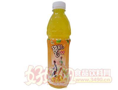 优露甜橙派对果味饮料480ml