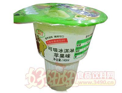 优露可吸冰淇淋苹果味