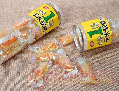 心味果园玉米软糖130g罐装