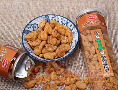 心味果园蟹黄味蚕豆170g罐装