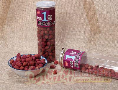 心味果园紫薯花生138g罐装