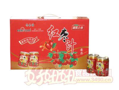 齐乐福红枣汁箱装