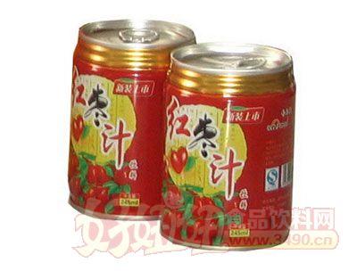 齐乐福红枣汁245ml