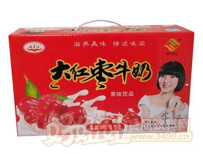 福美佳大红枣牛奶