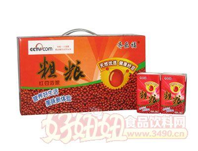 齐乐福粗粮红豆浓浆